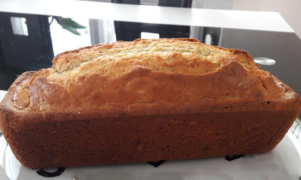 Cake moelleux à la banane au thermomix - Cuisine Momix