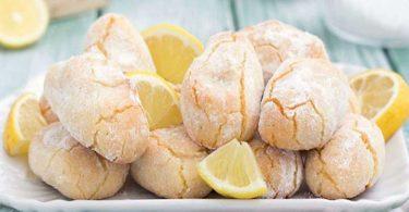 Biscuits au citron et aux amandes facile