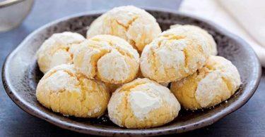 Biscuits tendres au citron tout simples