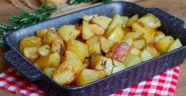 Pommes de terre au four croustillantes express