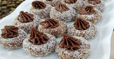 biscuits à la crème au chocolat magnifique