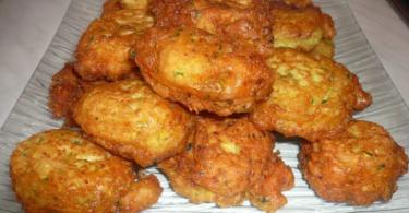 beignets de courgettes facile