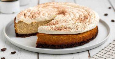Cheesecake cappuccino dessert parfait