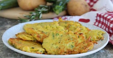 Galettes de pommes de terre et courgettes recette très simple