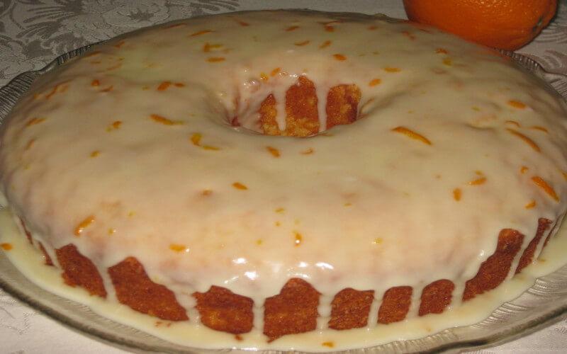 Gâteau à l'orange un dessert simple et très savoureux