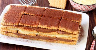 Gâteau aux biscuits de grand-mère un vrai régal !