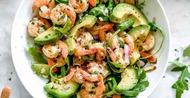 recette salade de crevettes simple et parfaite