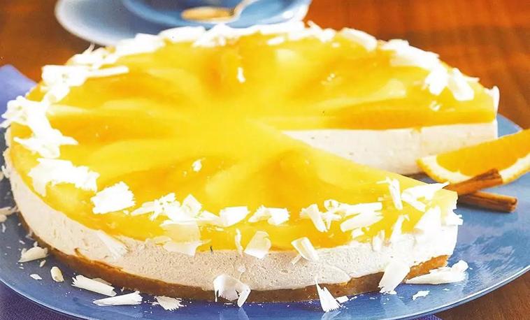Gâteau Mousseux Oranges et Speculoos