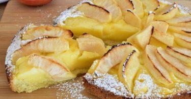 Gâteau flamand aux pommes