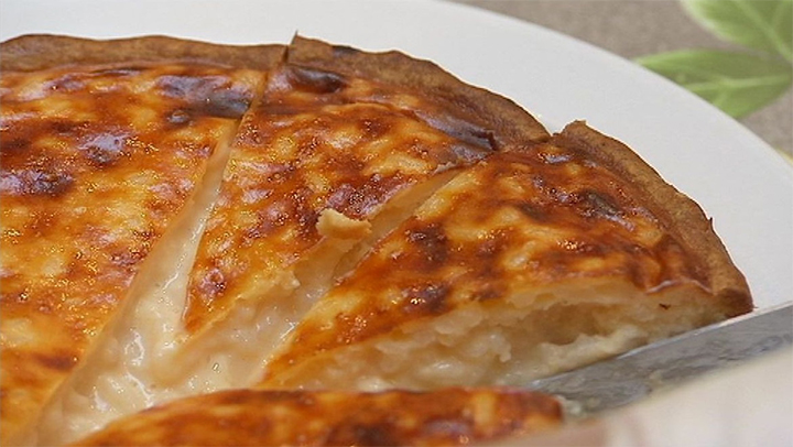 La fameuse tarte au riz de vervier