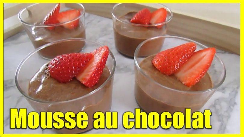 La meilleure mousse au chocolat facile et inratable