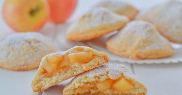 Biscuits farcis aux pommes à la cannelle
