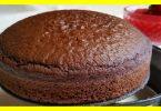 Gâteau à l'eau très doux sans œufs ni produits laitiers