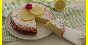 Gateau au citron, sans farine, levure, beurre