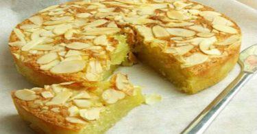 Gâteau aux amandes à la noix de coco sans farine