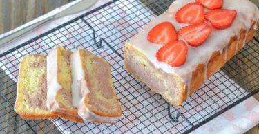 Gâteau aux fraises et au yaourt très doux